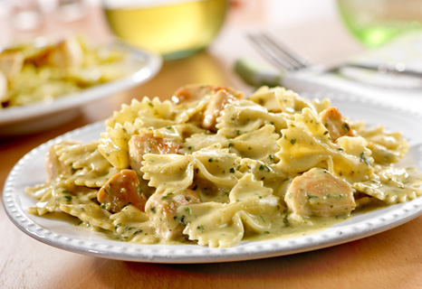 Chicken Alfredo Bowtie Pasta Recipe