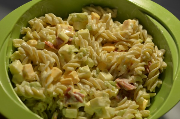 Cheesy Pepperoni Pasta Salad Recipe This Mom Can Cook
