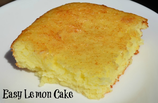 Easy Lemon Cake Recipe - This Mom Can Cook - Easy to make recipes ...