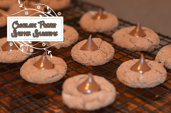 Chocolate Peanut Butter Blossoms