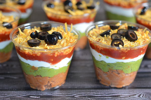 Individual 6 Layer Dips - Olives