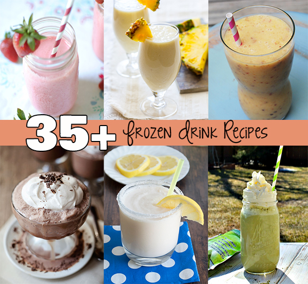 35+ Frozen Drink Recipes