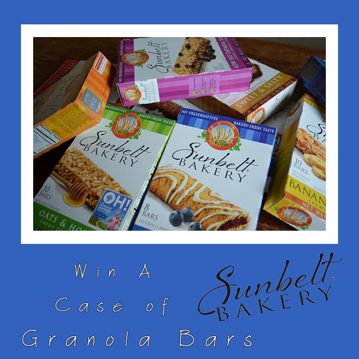 Sunbelt Bakery Granola Bar Giveaway