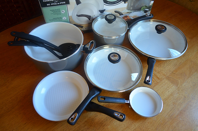 Farberware Purecook Ceramic Set