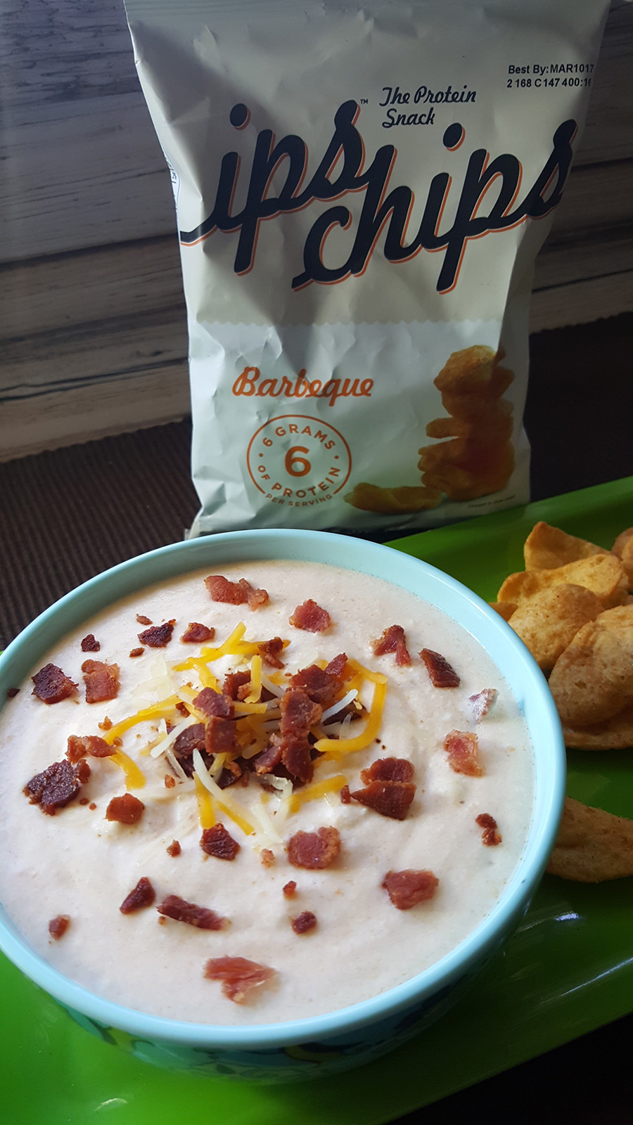 Creamy Bacon Cheese Dip With Ips Chips