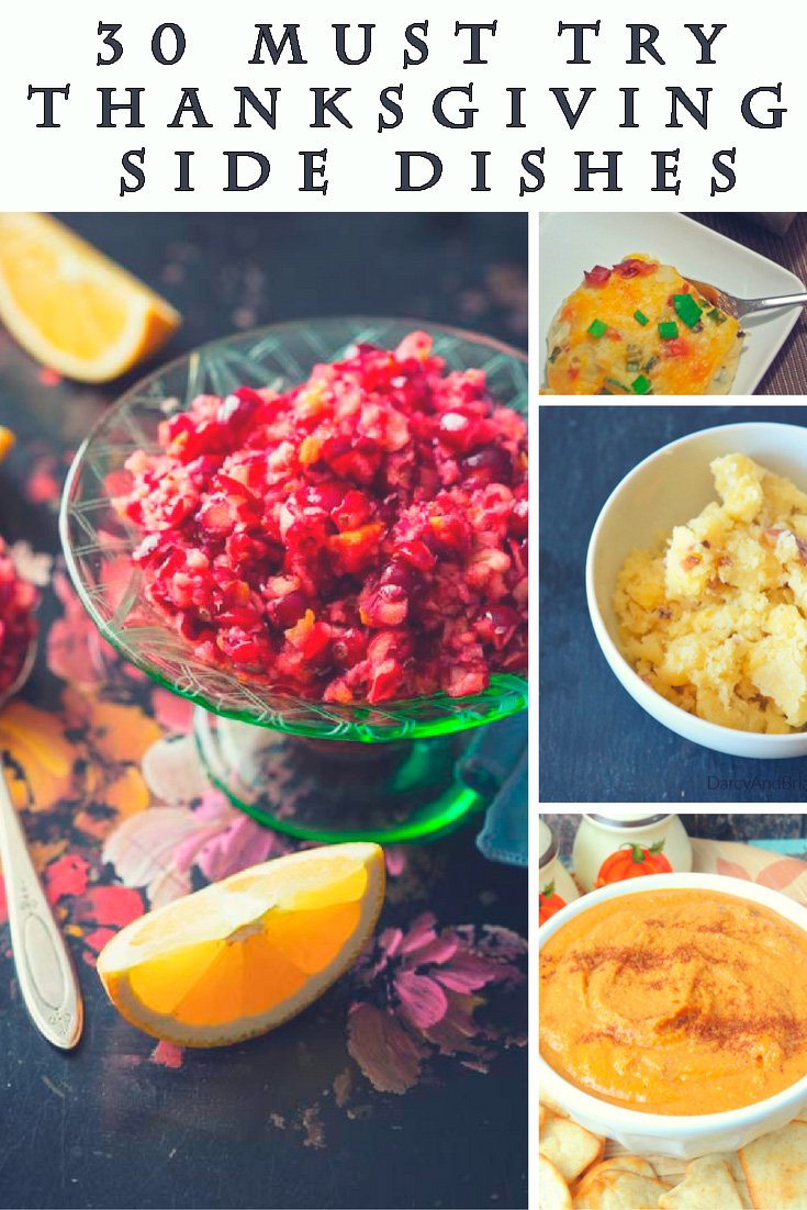 30 Must Try Thanksgiving Side Dishes