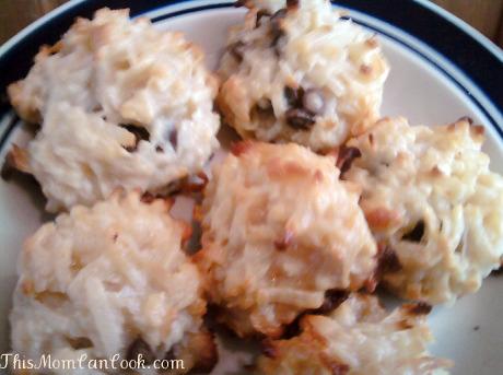 Chocolate Chip Coconut Macaroons Recipe