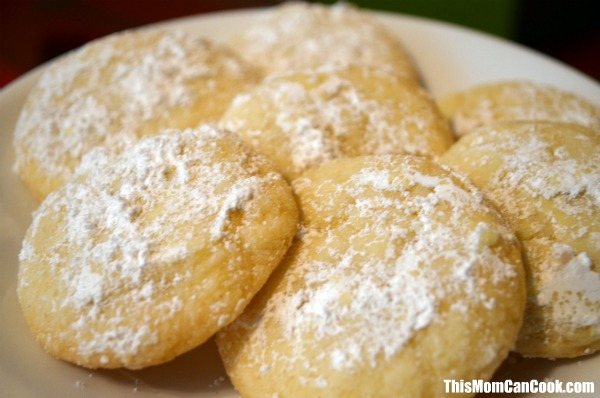 Lemon Drop Cookies Recipe - This Mom Can Cook