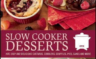 Slow Cooker Desserts Recipe Book Photo