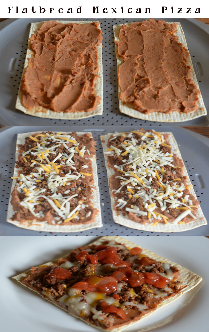 Flatbread Mexican Pizza