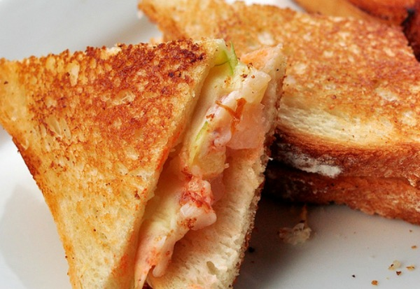 Lobster Grilled Cheese Sandwich Recipe - This Mom Can Cook - Easy to make recipes, cooking ...