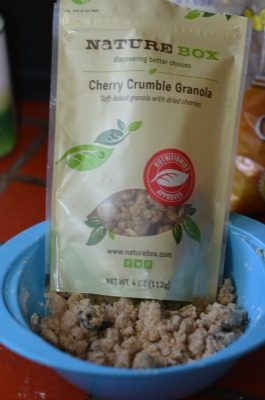 NatureBox Cherry Granola Crumble
