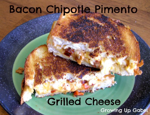 Bacon Chipotle Pimento Grilled Cheese Sandwich