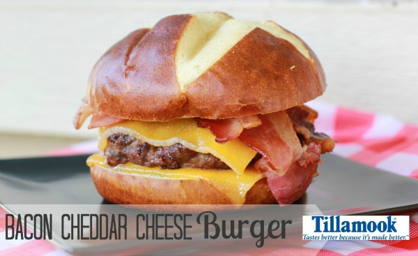 Bacon Chedder Cheese Burger