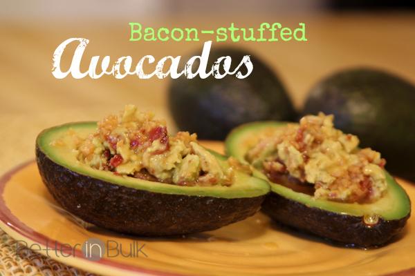 Bacon Stuffed Avocados