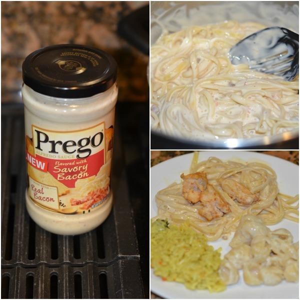 Chicken Alfredo with Prego