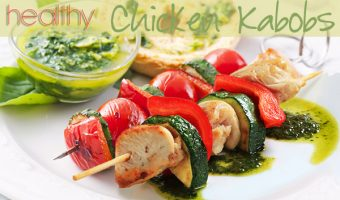 Healthy Chicken Kabobs
