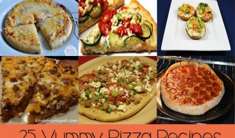 25 Yummy Pizza Recipes