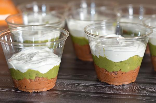 Individual 6 Layer Dips - Sour Cream
