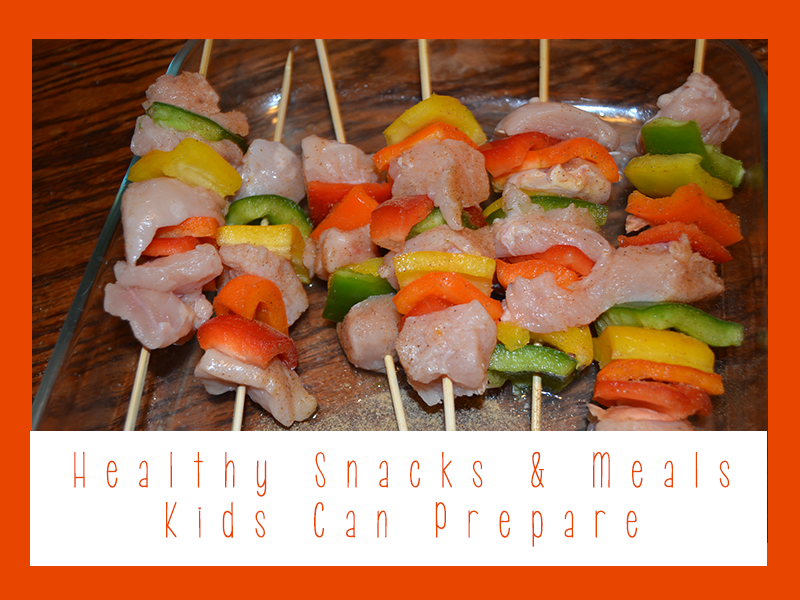 Healthy Snacks Meals Kids Can Prepare