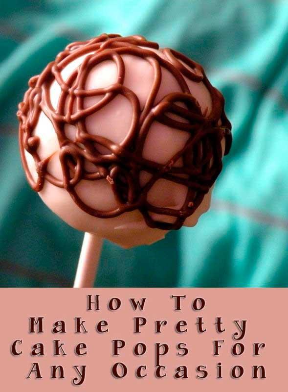 How to make pretty cake pops