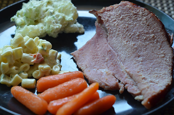 Kurobuta Ham dinner