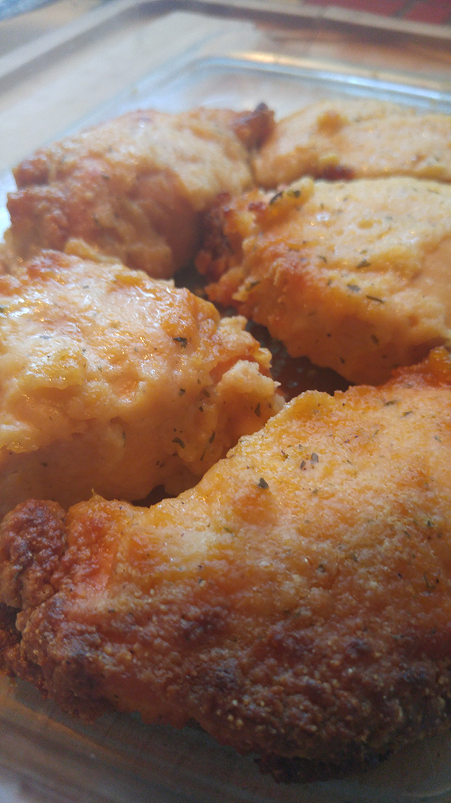 Cornbread Chicken - Made in Slow Cooker