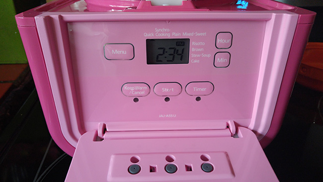 Pink Tiger tacook Rice Cooker