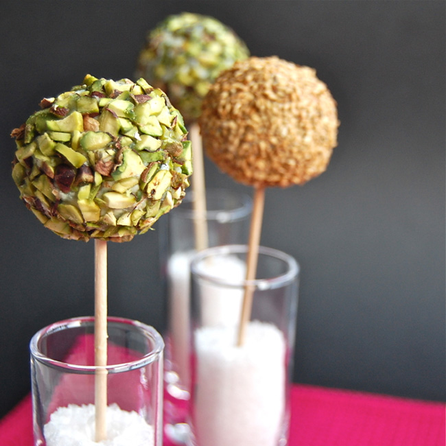 Roquefort Lollipops