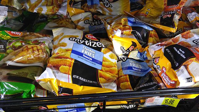 Tyson Anytizers Chicken Fries