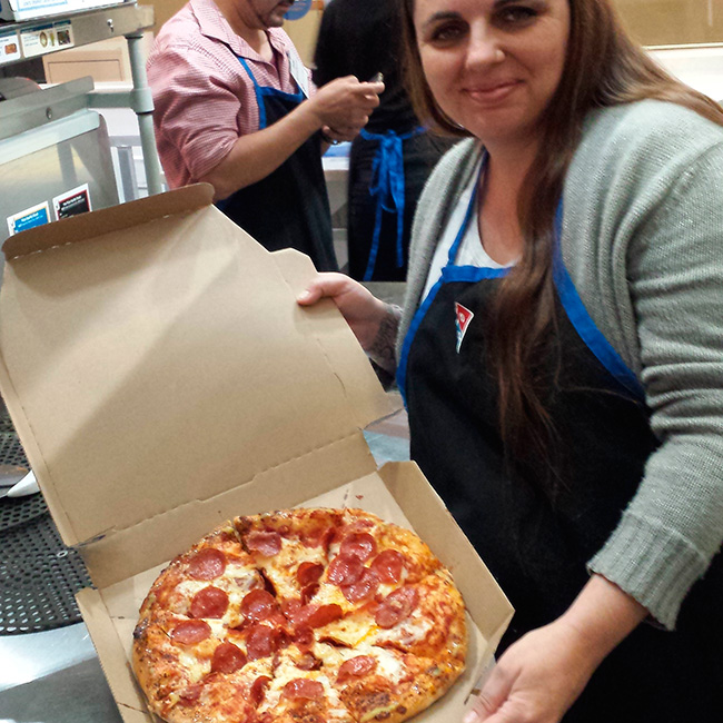 Stefani Tolson - Domino's Pizza World Resource Center