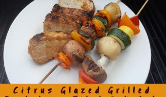 Citrus Glazed Grilled Pork Loin Filet & Kabobs