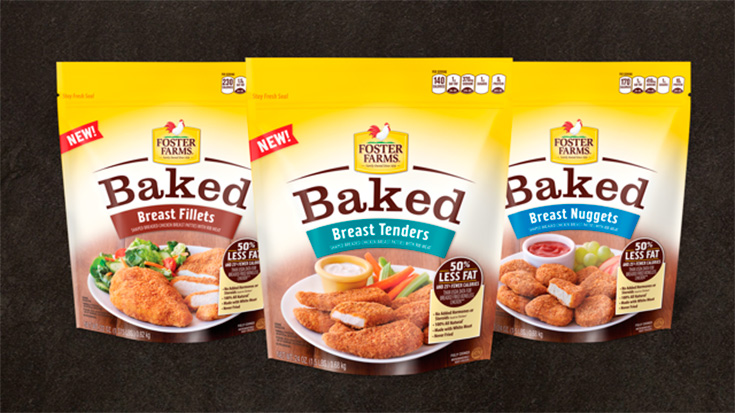 Foster Farms Baked Never Fried Chicken