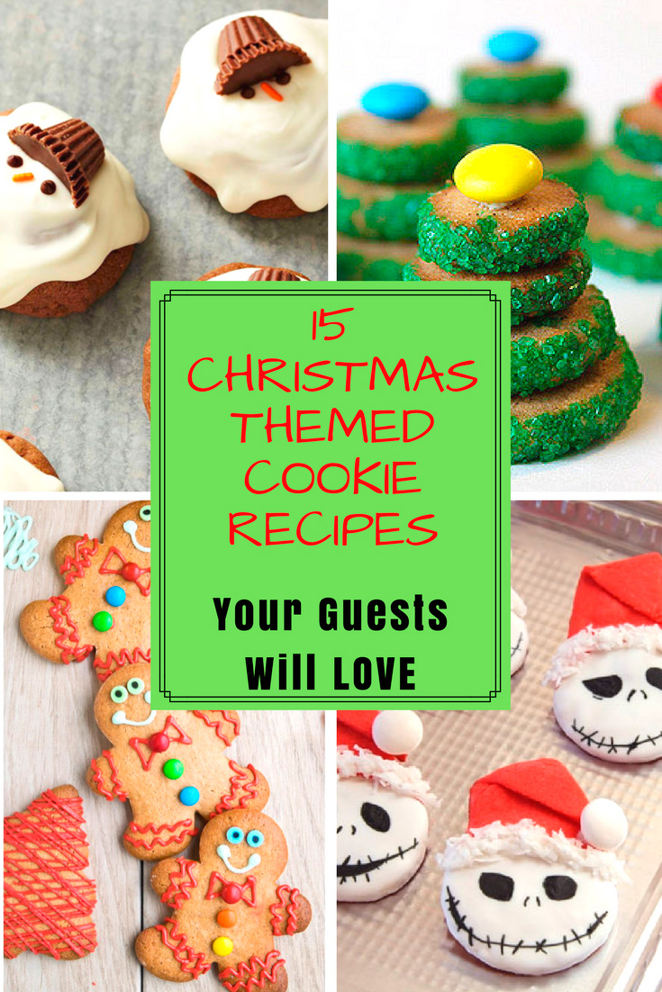 15 Christmas Themed Cookie Recipes Your Guests Will LOVE