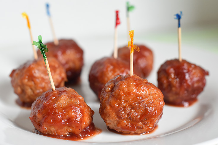 Cranberry Turkey Meatballs Recipe