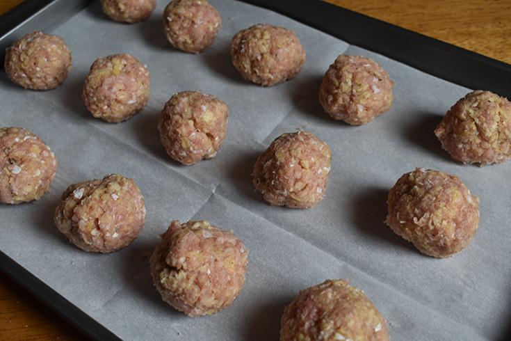 Fresh Ground Turkey Meatballs
