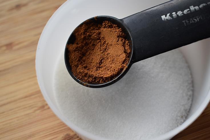 One teaspoon cinnamon