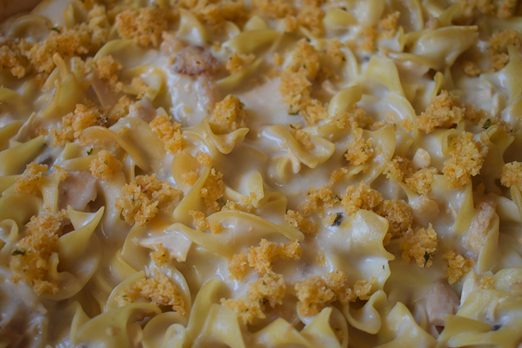 Tuna Noodle Casserole Without Peas Recipe