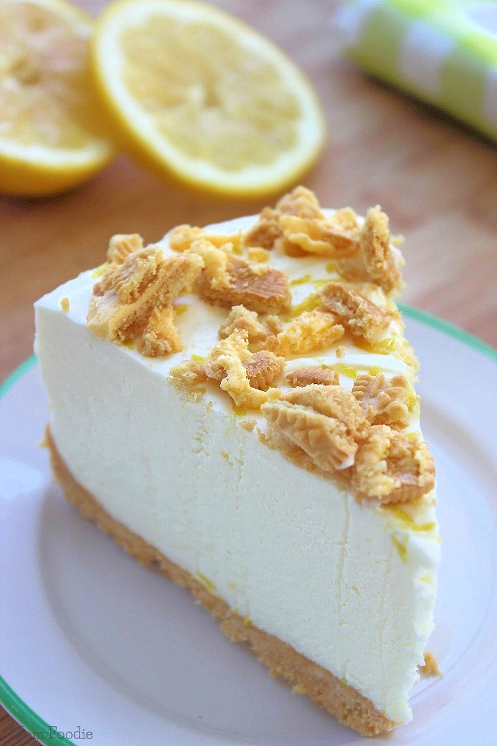 Easy Triple Lemon Oreo Cheesecake