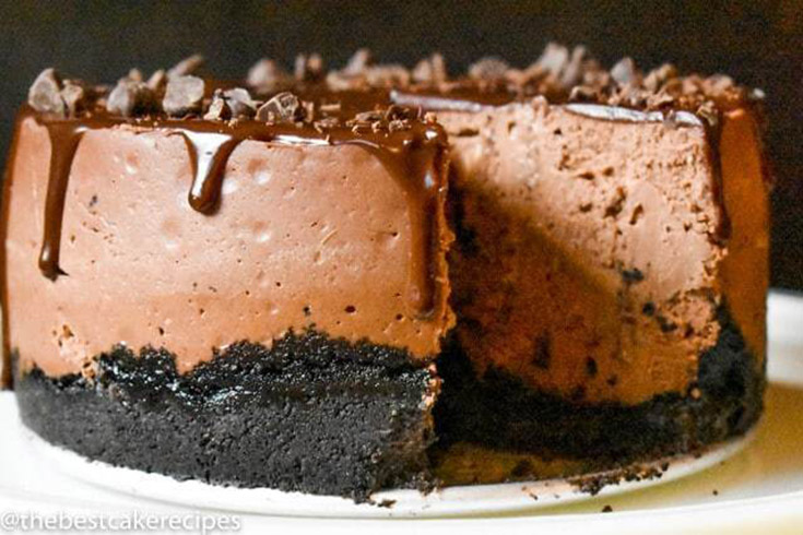 Instant Pot Chocolate Cheesecake with OREO Crust