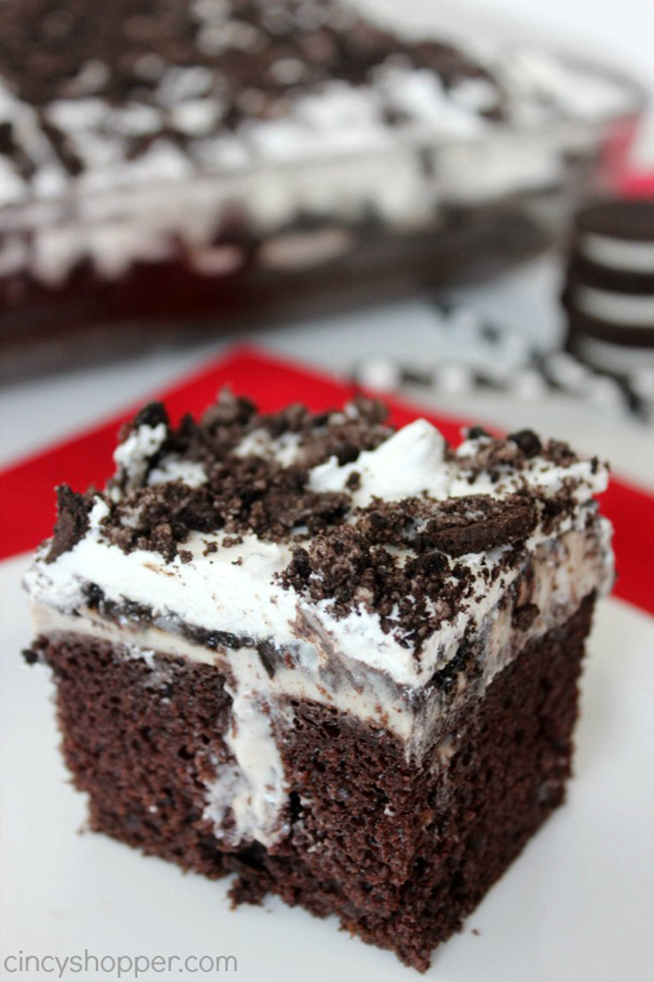 OREO Poke Cake