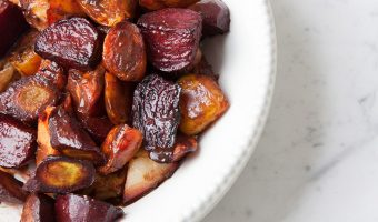Balsamic Roasted Vegetables With Chocolate