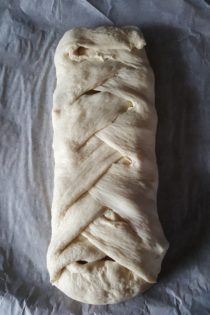 Braided Apple Strudel Dough