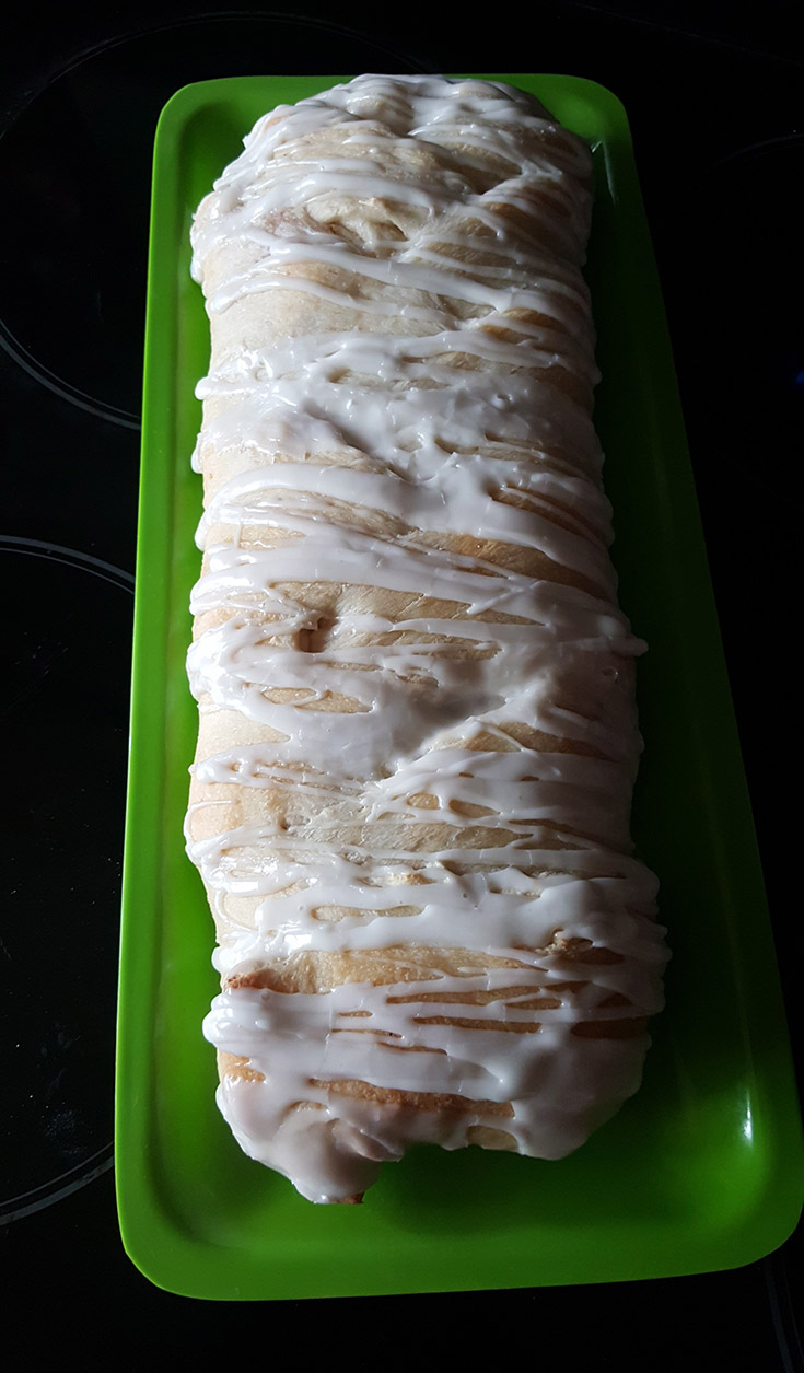 Braided Apple Strudel Recipe