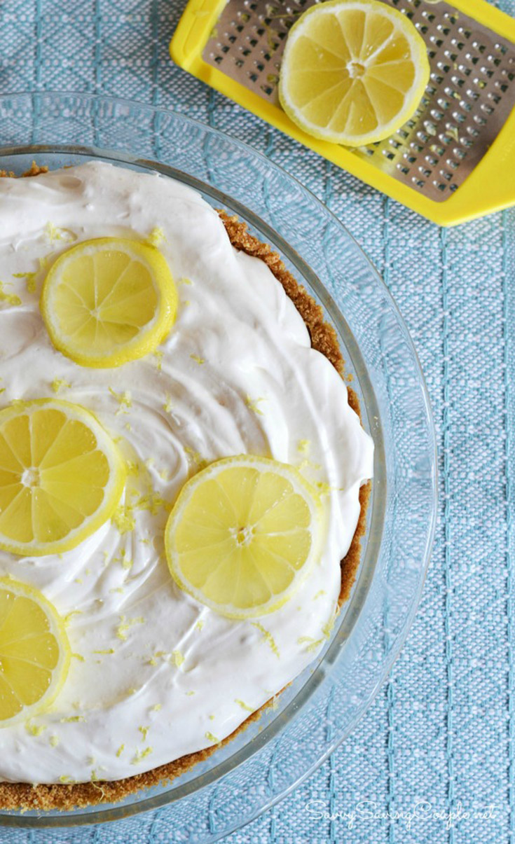 No-Bake Lemon Cream Pie