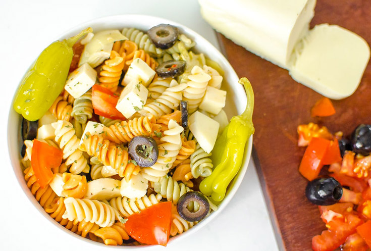 Easy Summer Italian Pasta Salad